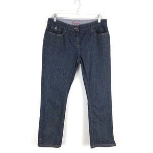 Boden Women's Dark Wash Ankle Jeans Size 8L